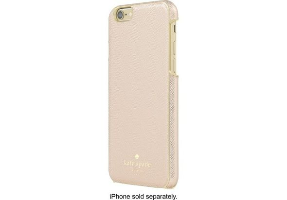 Kate Spade New York Wrap Case for Apple iPhone 6 and 6s, Saffiano Rose Gold