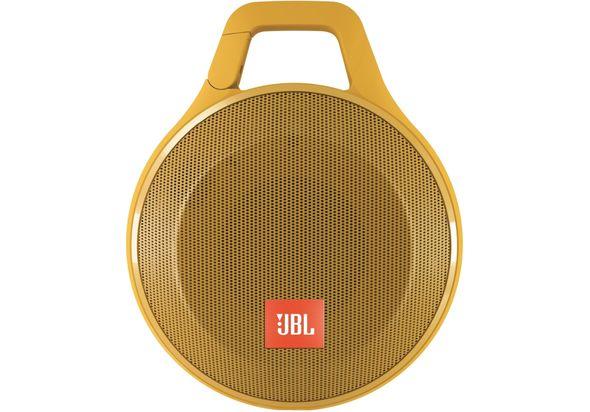JBL Clip+ Bluetooth Speaker, Yellow