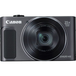 Canon PowerShot SX620 HS Digital Camera, Black