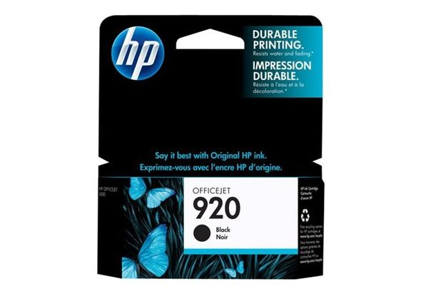 HP CD971AE/BGX 920 Black Original Ink Cartridge