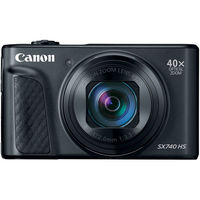 Canon PowerShot SX740 HS Digital Camera,  Black