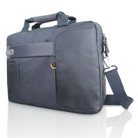 "Lenovo 15.6"" Classic Topload Bag by NAVA, Blue"