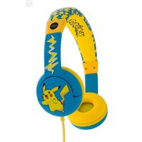 Pokemon PK0444 Pikachu Children's Headphones