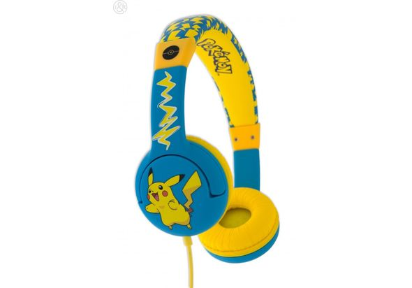 Pokemon PK0444 Pikachu Children s Headphones