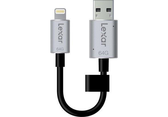 Lexar 64GB JumpDrive C20i Flash Drive
