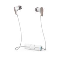 iFrogz Zagg Audio Charisma Wireless Bluetooth Earbuds, White/Rose Gold