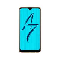 الهاتف الذكي Oppo A7, سعة, أزرق 64GB LTE,  Glaring Gold