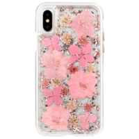 Case Mate Karat Petals Case for Apple iPhone X, Pink
