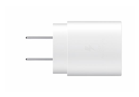 Samsung 25W USB-C Fast Charging Wall Charger,  White