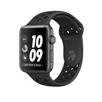 Apple Watch Nike+ Space Gray Aluminum Case 38mm with Anthracite/Black Nike Sport Band