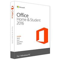 Microsoft Office Home & Student 2016 for PC with Arc Touch Mouse