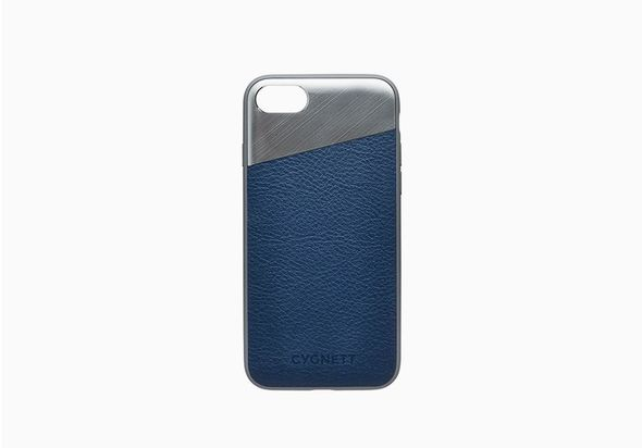 Cygnett (CY2282CPELE) iPhone 8 & 7 Leather Case in Navy