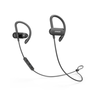 Anker SoundBuds Curve Wireless Bluetooth Sports Earphones, Black