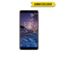 Nokia 7 Plus Smartphone LTE, Black