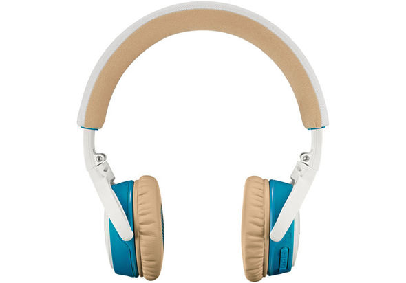 Bose SoundLink On-Ear Bluetooth Headphones, White and Blue
