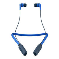 Skullcandy Ink'd Bluetooth Wireless Earbuds, Royal Blue