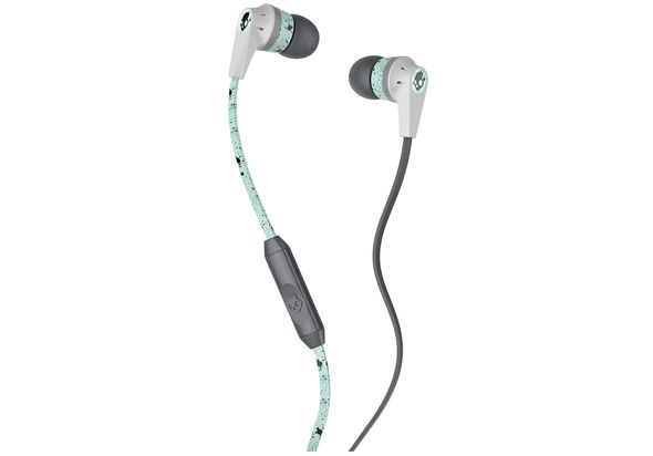 Skullcandy Ink d 2 Earbud Headphones Black/Mint