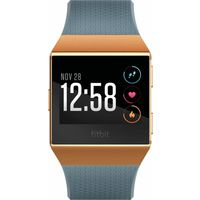 Fitbit Ionic Smartwatch, Burnt Orange/Slate Blue
