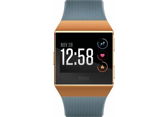 Fitbit Ionic Smartwatch, Burnt Orange/Slate Blue