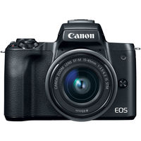Canon EOS M50 Mirrorless Digital Camera Body Only, Black