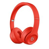 Beats Solo3 Wireless On-Ear Headphones, Red