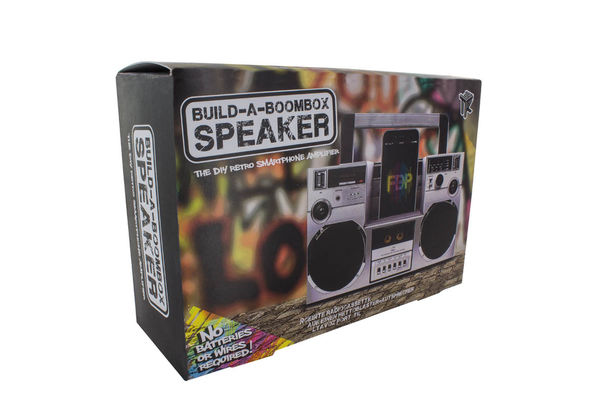 Paladone Build A Boombox Speaker
