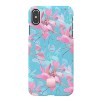 Happy Plugs Protective Case for iPhone XS Max, Botanica Exotica