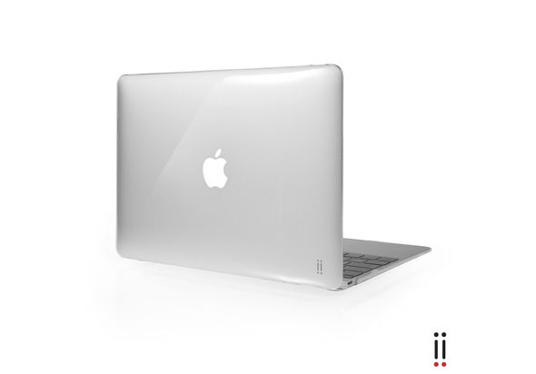 Aiino Custodia MacBook 12 Glossy - Clear
