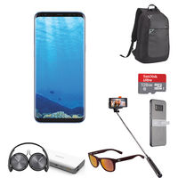 Samsung Galaxy S8+ Smartphone LTE, Coral Blue