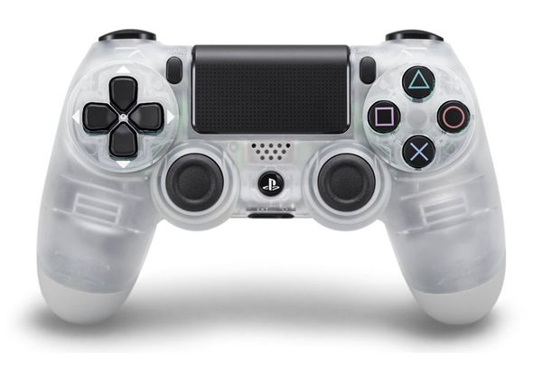 Sony PS4 Wireless DualShock Controller, Crystal