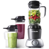NutriBullet Select 12-Piece High-Speed Blender/Mixer System 1200 Watts, Dark Grey