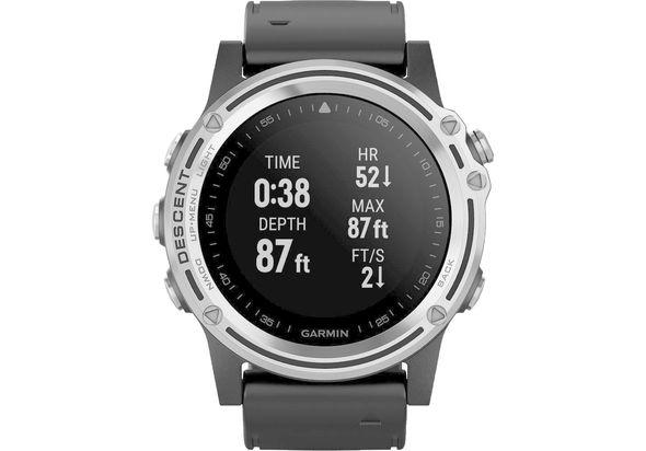 Garmin Descent MK1 Dive Smartwatch, Silver
