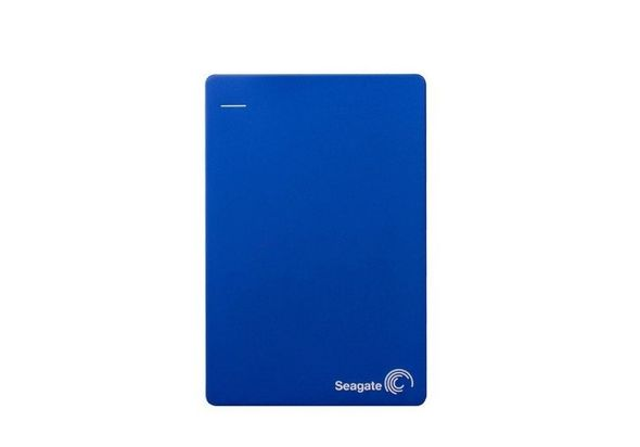Seagate 1TB Backup Plus Slim Hard Disk,  blue