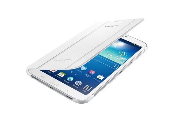 Samsung Galaxy Tab3 7.0 Book Cover - White