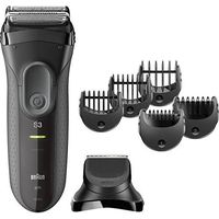Braun 3000BT Wet & Dry For Men - Clipper & Trimmer