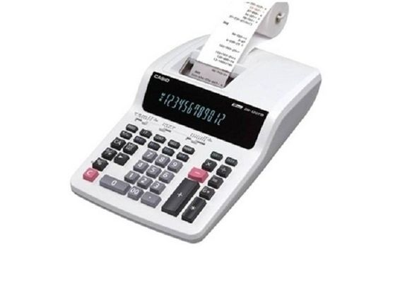 Casio DR-120TM-WE Printing Calculator