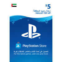 Sony Wallet top up 5 USD