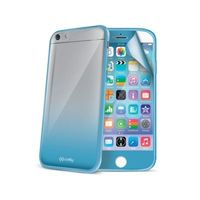Celly SUNNY60003 Cover with screen protector for apple iphone 6, Light Blue
