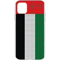Switch iPhone 11 Pro Max Clear Case Matte Pixel UAE Flag