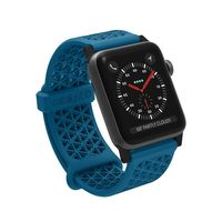 Catalyst Sports Band Strap for Apple Watch 42mm, Blue/Orange, Case