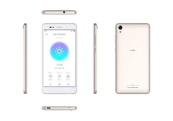Lava Iris 50 Dual SIM Smartphone, Gold