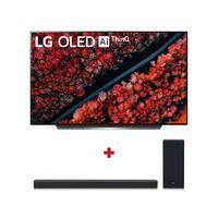 """LG 65"""" C9 OLED 4K TV with LG SL6Y 3.1 Channel Sound Bar"""