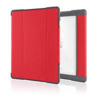 """STM Dux Plus Case for 10.5"""" iPad Pro, Red"""