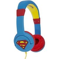 OTL On-Ear Junior Headphone - Superman - Portable Headset Volume Limiting Kids Headphones