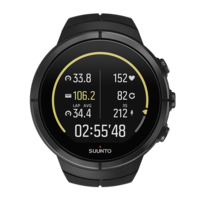 Suunto Spartan Ultra HR Watch, Black Titanium