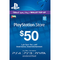 PlayStation Live Card $50
