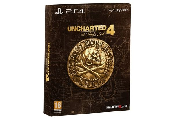 Uncharted 4 A Thief s End Special Edition for PS4