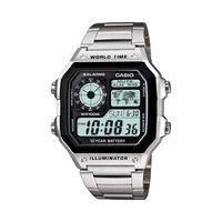 Casio Men's AE1200WHD-1AV Silver Stainless-Steel Quartz Watch