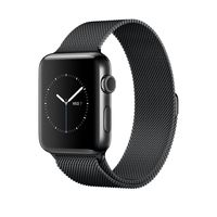 Members Offer for Apple Watch Space Black Stainless Steel Case with Space Black Milanese Loop