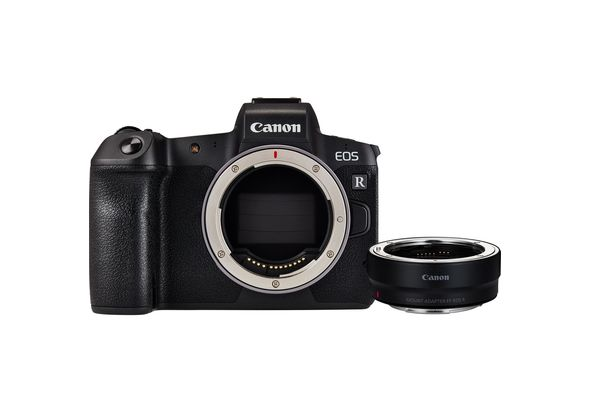 Canon EOS R Body+ Mount Adapter EF-EOS R